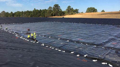 Produced Water Impoundment Expansion
