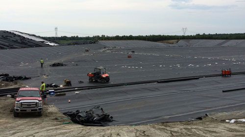 Hazardous Waste Landfill Construction